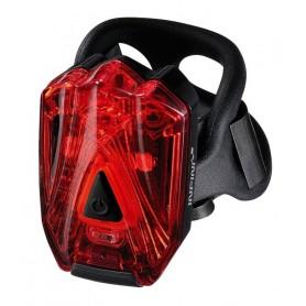 Infini Safety light I-260 Lava rede LEDs, black USB connection