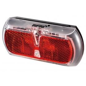 Infini LED-Pannier rack light Apollo Rear wheel red with light-dark-sensor 501RG2
