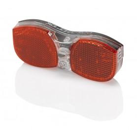 XLC LED Batterie-Rückleuchte Gepäcktr. inkl Reflektor