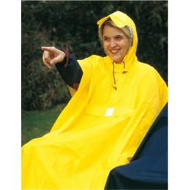 Hock waterproof poncho Rain Care yellow size L