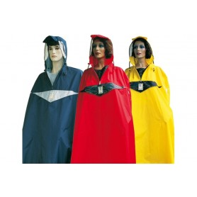 Hock waterproof poncho Super Praktiko red size XL