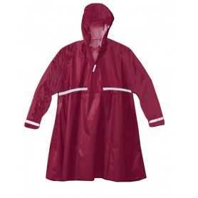 Hock waterproof poncho Super Praktiko Zipp bordeaux red size XL