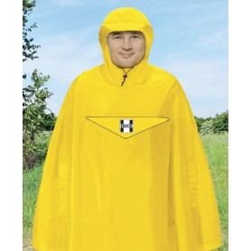 Hock waterproof poncho Rain Light signal yellow size L