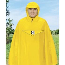 Hock waterproof poncho Rain Light signal yellow size XL