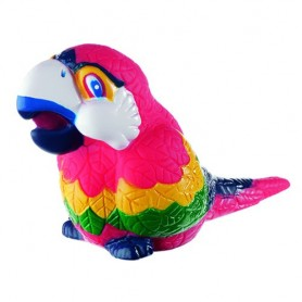 """Horn with animalfigure """"Parrot"""""""