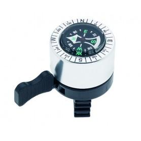 Kompass-Glocke Ø 40 mm silber