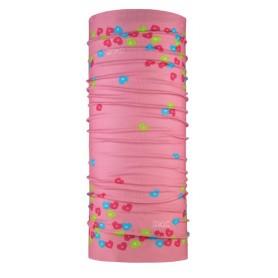 P.A.C. Halstuch Kids aus Microfaser Sweet Hearts pink bunt