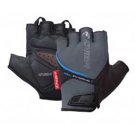 Chiba Gloves Gel Premium short size XXXL grey blue