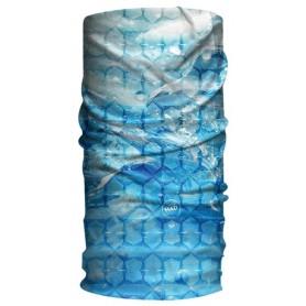 HAD Halstuch Sun Protection Polar Breeze blau weiß