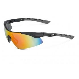 XLC Sun glasses Komodo black grey glass gradient mirrored