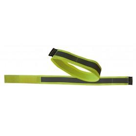 Reflexband Wowow 3M per Paar, gelb, m. Klettverschluß 38x3cm