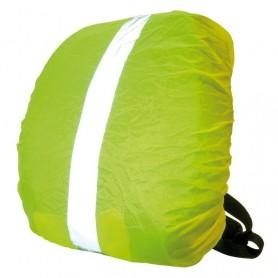 Wowow Rucksackhülle gelb reflektierende Streifen m. Tasche