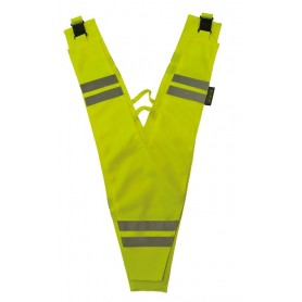 Wowow Safety collar for adults yellow reflecting