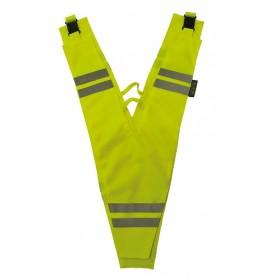 Sicherheitskragen f.Erwachsene Wowow gelb reflektierend