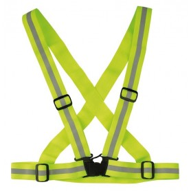 reflexgurt Wowow Cross Belt yellow elastic adjustable