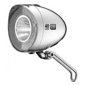 XLC Front light LED Retro reflector 40Lux switch Parking light Senso ch