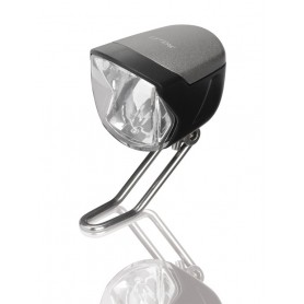 "Büchel LED Bicycle Headlight /"" Shiny /"" 80 Lux with Parking Light"