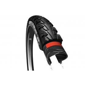 CST tire Classic Tuscany 37-622 28 inch wire black reflecting