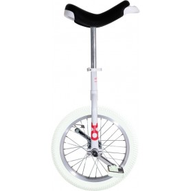 Unicycle OnlyOne 16 inch white Indoor Alu rim tire white