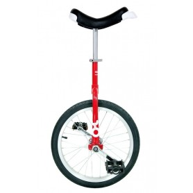 Unicycle OnlyOne 18 inch red Alu rim tire black