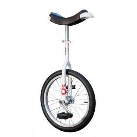 Unicycle OnlyOne 18 inch white Alu rim tire black
