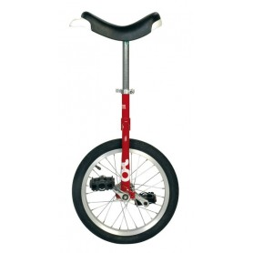 Unicycle OnlyOne 20 inch red Alu rim tire black