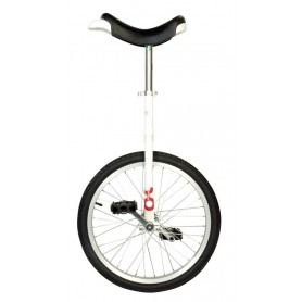 Unicycle OnlyOne 20 inch white Alu rim tire black