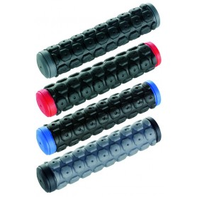 Lenkergriffe Super Grip D2 - 30 mm 130 mm schwarz grau