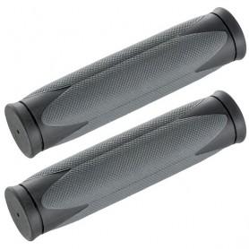Handlebar grip - D2 - 31 / 130mm - grey black