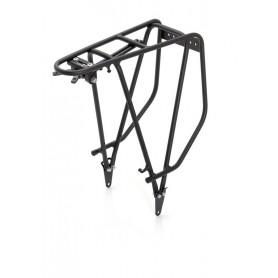 XLC Pannier rack RP-R03 matt black Alu, 28 inch
