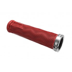 T-One grips DOT 1x screw lock red grey