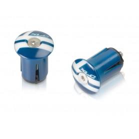 XLC Handlebar plugs GR-X02 blue