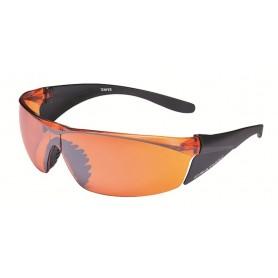 Cratoni Sun glasses Temper matt black glass orange