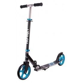 Hudora Hornet City Scooter Alu/Stahl 8 inch 200 black light blue