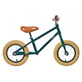 Rebel Kidz Walking bike Air Classic Boy 12.5 inch steel, Classic dark green