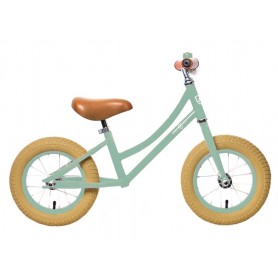 RebelKidz Walking bike Air Classic unisex 12.5 inch steel, Classic light green