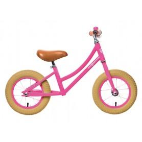 Walking bike RebelKidz Air Classic unisex 12.5 inch steel, Classic pink