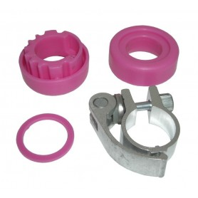 Headset for Fuzion Sport 4 Wheel pink with SSP-clamp