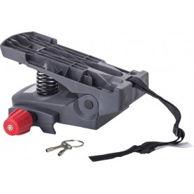 Gepäckträger-Adapter Hamax grau, für Caress Kindersitz