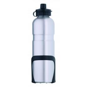 Alu-Trinkflasche - 750 ml - silber