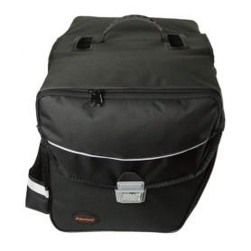 Haberland Doppeltasche Touring 6000 32x31x16cm, 33 ltr schwarz,