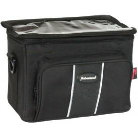 Haberland Handlebar bag 25x19x14cm, 6 ltr black