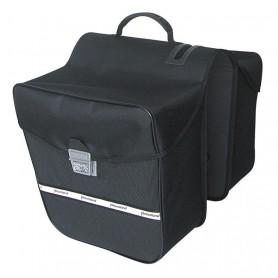 Haberland Double bag E-Bike 31x30x15cm, 28 ltr black