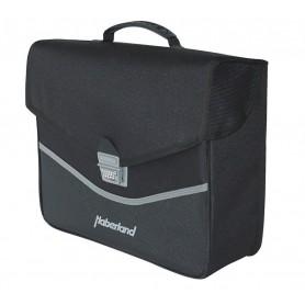 Haberland Single bag classic 37x31x12cm, 14 ltr black