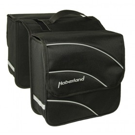 Haberland Double bag Kim M 24 inch 28x28x11cm, 18 ltr black