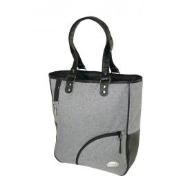 Haberland Shopping bag Haberland Reikya Grey Deluxe, 32x37x13cm, 15 ltr