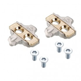 Xpedo Pedals SPD XPT Cleats gold