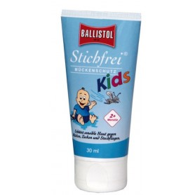 Mosquito repellent Ballistol Stichfrei Kids 30ml, Tube, Lotion
