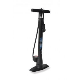 XLC Floor pump 'Delta' PU-S04 11 bar with Dual head black