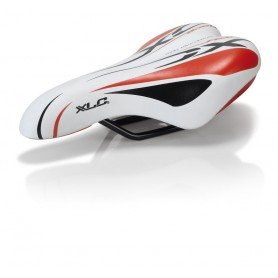 XLC Kids / Youth saddle SA-C01 unisex 245x150mm 312g white red